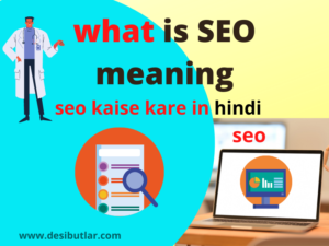 what is seo meaning